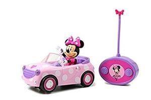 Carro De Minnie Mouse A Control Remoto Para Niñas