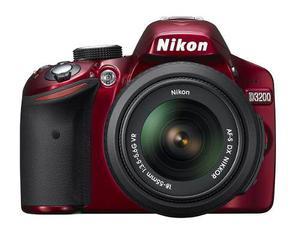 Cámara Dslr Nikon D Dx 24.2 Mp Con Lente mm -rojo
