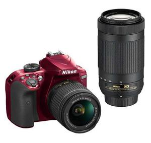 Cámara Dslr Nikon D Dx Con Lentes mm mm