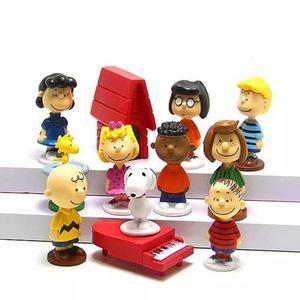 Coleccion De Figuras De Charlie Brown Y Snoopy Peanuts