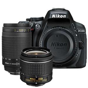 Kit Camara Nikon D Dslr + Lentes mm,mm Egrati