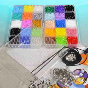 Kit Master  Hama Beads Mini 2.6mm + Libro + Accesorios