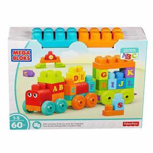 Mega Bloks Tren De Aprendizaje Abc 60pz Fisher Price