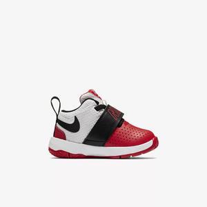 Tenis Nike Team Hustle Bebé Bco/ngo/rjo  Originales