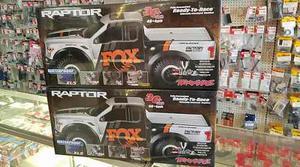 Traxxas  F-150 Raptor Fox Eléctrica  Envio
