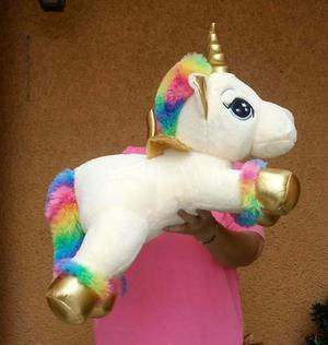 Unicornio Pony Pegaso Con Alas Varios Colores De 65 Cm