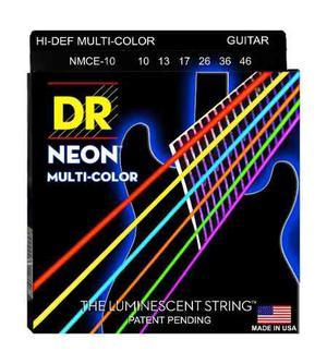 Dr Cuerdas Guitarra Neon Color Fosforescentes Rocksmith