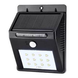 Lámpara Solar 10 Led Sensor De Movimiento Exterior