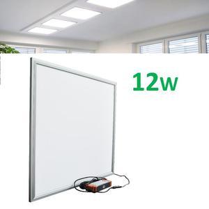 Panel Led 12w 30x30 Plafon Empotrado Luces Casas Oficina
