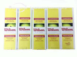 Paquete De 50 Botes De 3 Pelotas Wilson Cada Uno