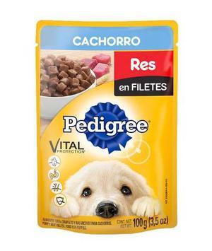 Pedigree Pouch Cachorro Bocadillos Res Caja Con 40 Sobres De
