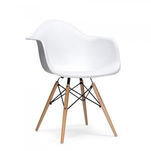 Silla Eames Con Brazo Blanca - Calidad! Precio De Remate!!