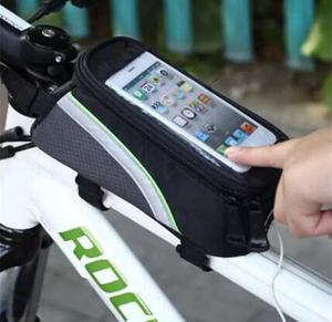 Mini Mochila Bolsa Porta Celular Herramienta Para Bicicleta