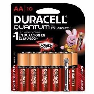 Pila Duracell Quantum Aa Con 10 Piezas