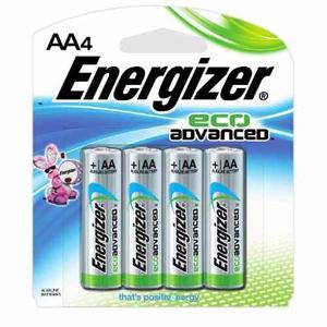 Pila Energizer Alcalina Eco Advance Aa Con 4 Piezas
