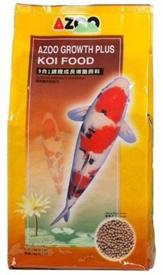 Azoo 9 En 1 Koi Growth Peces Pellets 1kgs Acuarios