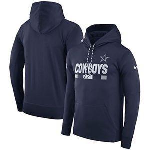 Sudadera Therma Original Nike Nfl Vaquero Dallas Cowboys 018