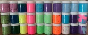 25 Slime En Tarro A Mayoreo Varios Colores Recuerdos Fiestas
