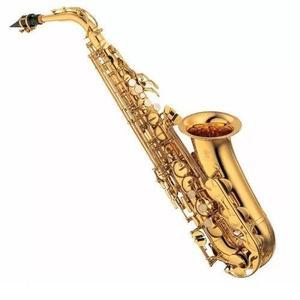 Blessing l Saxofón Alto Dorado Laqueado Estuche Mib/fa