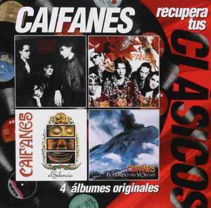 Caifanes Recupera Tus Clásicos 4 Discos Cd