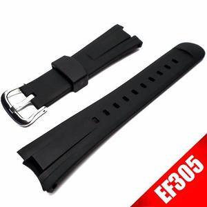Extensible Ef305 De Caucho Para Reloj Casio Ef305
