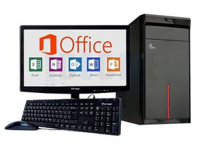 Pc Completa Intel Celeron Ji-c Dual Core 4gb 500gb Led
