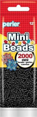 Perler Beads Mini !nuevo! Bolsa  Pz Original Negro