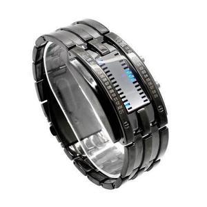 Reloj Led Binario Modelo E-men Resistente Al Agua Fashion