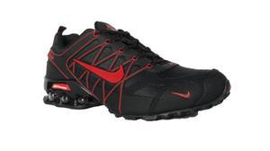 Tenis Nike Shox Air Ultra  Black-red Oferta Especial