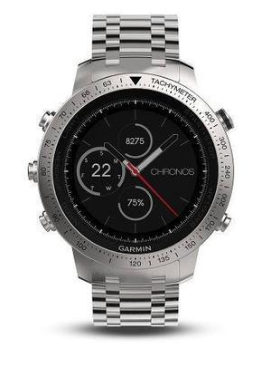 Reloj Gps Garmin Fenix 5 Chronos Acero Inoxidable Patinado