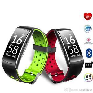 Reloj Smart Band Pulsera Cardiaco Contra Agua Q8 Z11
