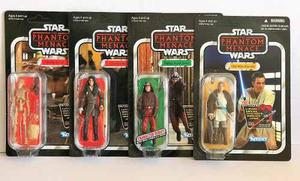 4 Figuras De Starwars Kenner The Phantom Menace