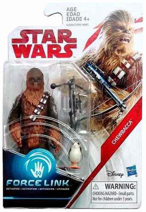 Chewbacca & Porg Star Wars: The Last Jedi Hasbro 3 3/4