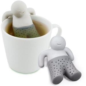 Infusor De Silicon Para Te Modelo Tea Color Gris H
