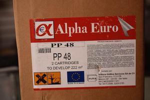 Kit Químicos Fuji Frontier *alpha Euro Cp-48lr Pc 2pzas