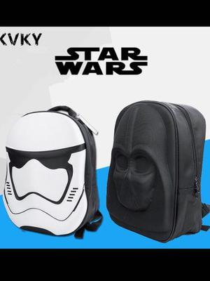 Mochilas Star Wars Darte Vader Stormtrooper Originales