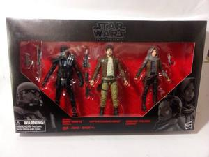 Star Wars Black Series Rogue One Cassian Death Trooper Jyn
