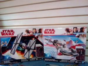 Star Wars Force Link Naves Tie Fighter Y Resistence Ski Pack
