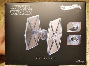 Tie Fighter Star Wars Hotwheels Elite Episodio V