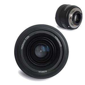 Lente Yongnuo 35mm F2 Para Nikon + Parasol + Filtro Uv V2