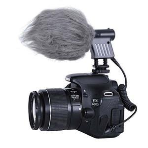 Microfono Dslr Hd Video Camara Condensador Shotgun