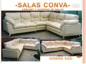 Sala Esquinera Dianna, 100% Comoda!!! Somos Fabricantes!!!