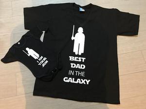 Star Wars Pkt 2 Playeras Dia Del Padre Papa E Hijo Duo Vader