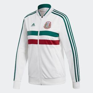 Chamarra adidas 3 Franjas México  Mujer Original