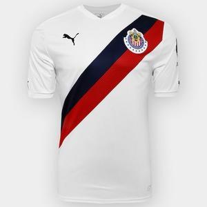 Jersey Playera Chivas Visitante Blanca  Original Oferta