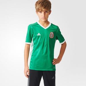 Jersey Playera adidas De Niño De La Seleciona De México