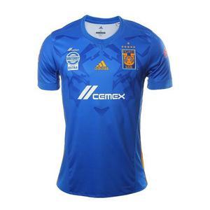 Jersey Tigres Visita Azul 18 6 Estrellas Nuevo Envío Gratis