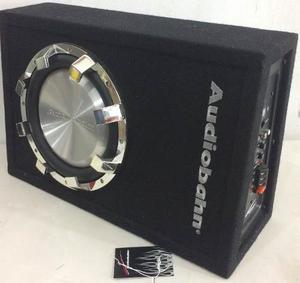 Woofer Cajón Y Amplificador 10 Integrado Para Carro