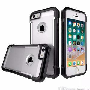 Funda Case Tough Iphone 5 Se 6 6s 7 8 X Plus Uso Rudo +mica