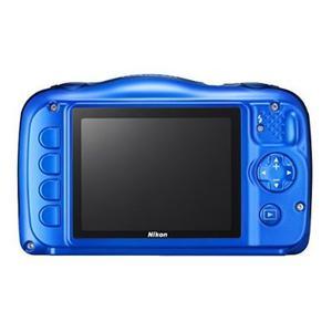Nikon Coolpix S33 Cámara Digital A Prueba De Agua (azul)
